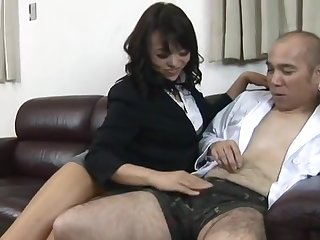 Horny adult video Japanese unbelievable show