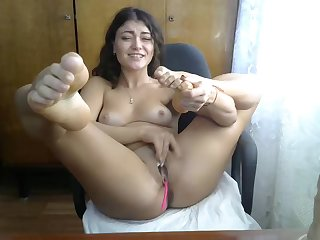 exciting naked ungentlemanly masturbates vulnerable webcam