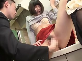brunette, couple, ex-girlfriend, hairy, hairy-asian, japanese, orgasm