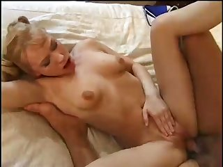 Big breasted pigtailed housewife goes nuts as riding her amateur hubby