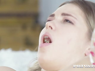 Private.com - Nympho Nurse Selvaggia Cures Big Blue Balls!