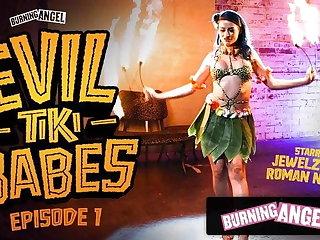 BurningAngel Barmaid Jewelz Blu Gives A Hot Graven image Performance
