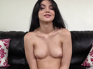 19 Years Old Babe Rose Fucks At The Casting