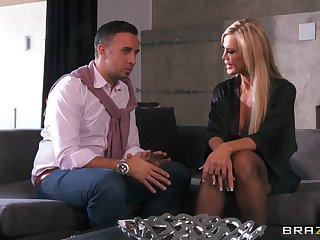 Hardcore fucking in get under one's living room alongside cheating tie the knot Amber Lynn