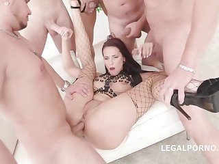 Jolee Love is having group sex less the middle of the day and enjoying it many a time