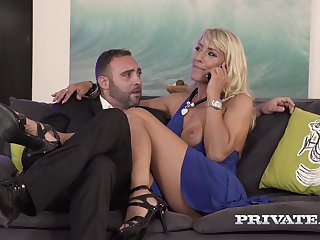 Milf Lana Vegas - Stars thither an anal threesome