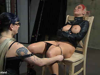 Jade Thomas & Simon Blackthorne in Please Take My Panties Gone - Femdom Lesbian Domination - KINK