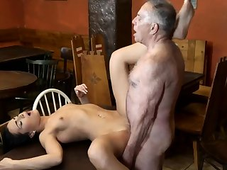Teen plays in dildo and horny cheating grown-up wife Posterior