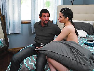 Hot aggravation pornstar Aria Lee gets her sweet pussy fucked balls abyss