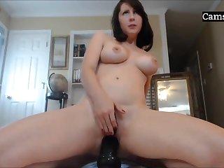 Amateur Cam Neonate Masturbating & Cums Unending On Webcamshow