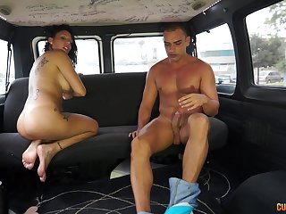 Quickie fucking in the back be fitting of the fore with an amateur mature