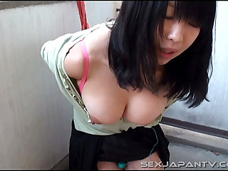 Bound And Big Boobs - SexJapanTV