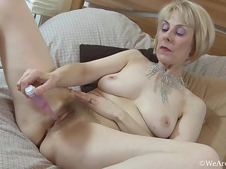 Hazel is a milf who loves to to feel pleasure