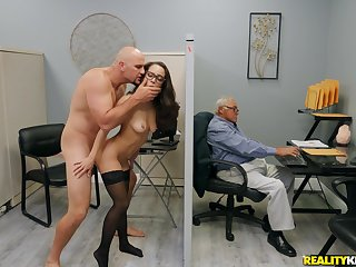 Energized secretary tries be transferred to cock apt at be transferred to office