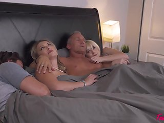 Hardly ever one really knows how one couples ended up fucking in evenly matched bed and swapping partners