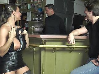 anal, cumshot, cum, double-penetration, ex-girlfriend, hardcore, milf, stockings, slut