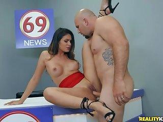 ass, ass-licking, big-tits, big-ass, big-natural-tits, cowgirl, close-up, ex-girlfriend, facial, latina, stockings